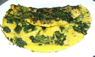 Omelette with fine herbs